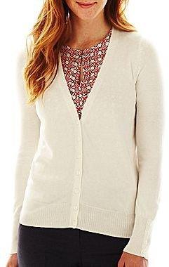 JCPenney Worthington® Essential Cardigan Sweater
