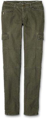 Eddie Bauer Quilted Pocket Cargo Jeans
