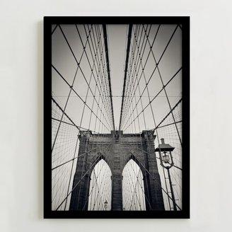 Framed Print - Brooklyn Bridge