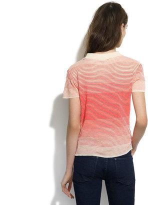 Le Mont St Michel Striped Collar Sweater