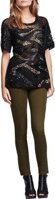 Nanette Lepore Orbit Zip-Pocket Pants