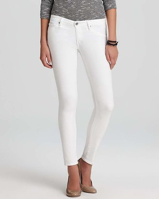 AG Jeans - The Legging Ankle in White $168 thestylecure.com