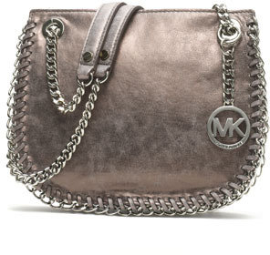 MICHAEL Michael Kors Small Chelsea Metallic Messenger