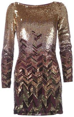 Matthew Williamson bead embellished mini dress