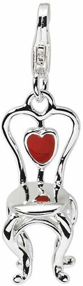 Amore La Vita Sterling Dimensional Chair withHeart Charm
