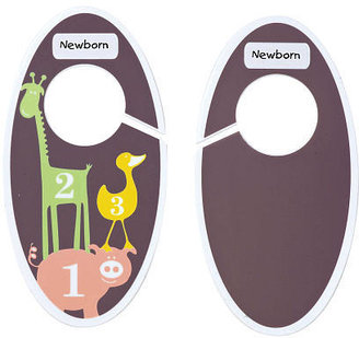 SugarBooger Closet Dividers - Numbers