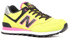 New Balance The Windbreaker Sneaker in Lime Punch
