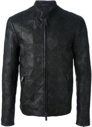 Giorgio Armani patchwork jacket
