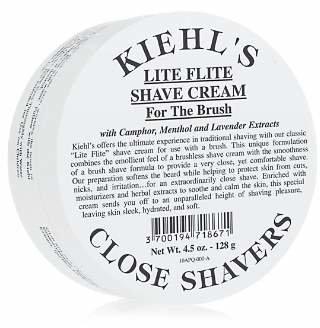 Kiehl's Close Shavers Lite Flite Shave Cream