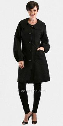 VAVA by Joy Han Terry Black Blouson Coats From