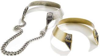 Lady Grey Trizoid Collar Necklace