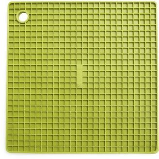 Sur La Table Avocado-Green Silicone Grid Potholder