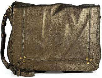 Jerome Dreyfuss Metallic Leather Crossbody Bag in Bronze