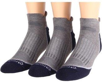 Fox River AXT Trail Ankle 3-Pair Pack (Light Grey) - Footwear