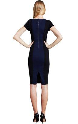 Alice + Olivia Shir Short Sleeve Princess Line Dress