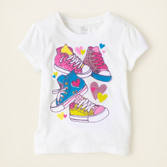 Children's Place Sneakers graphic tee