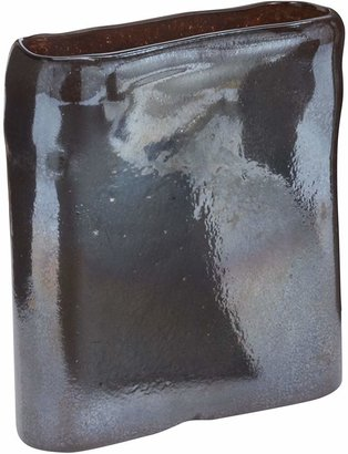 Ls Collections LS Collections Tarnished Metallic Vase, Small
