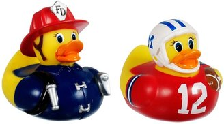 Munchkin White Hot Super Safety Bath Ducky, 2 Pack, Fireman