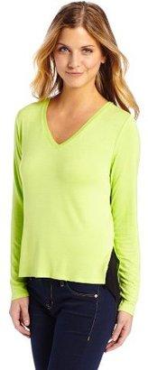 Kenneth Cole New York Women's Petite Jo Knit T-Shirt