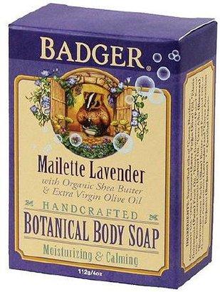 Badger Botanical Body Soap Maillette Lavender