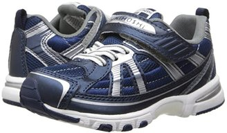 Tsukihoshi Storm (Toddler/Little Kid) (Navy/Silver) Boys Shoes
