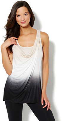 New York & Co. Love, NY&C Collection - Cowl-Neck Ombre Tunic