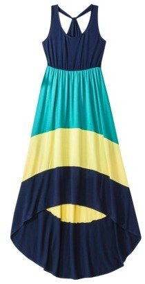 Mossimo Juniors High Low Racerback Maxi Dress - Assorted Colors