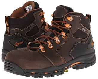 Danner Vicious 4.5 Non-Metallic Safety Toe (Brown/Orange) Men's Work Boots