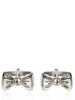 Lanvin Bow Tie Brass Cufflinks
