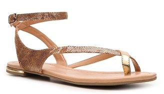 C Label Leaf-9A Flat Sandal