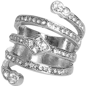 Arden B Pave Wrap Ring