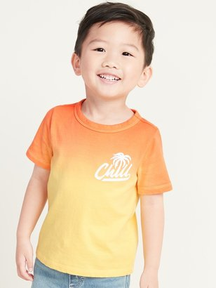 Old Navy Dip-Dyed Graphic Tee for Toddler Boys