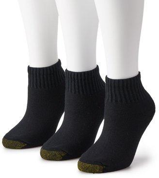 Gold Toe GOLDTOE 3-pk. Ultra Tec Quarter Socks