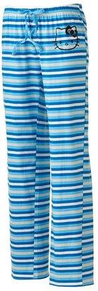 Hello Kitty striped pajama pants - juniors
