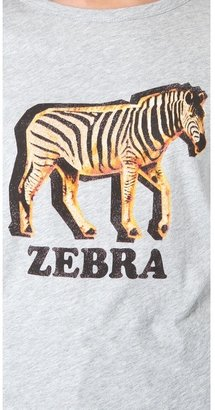 Patterson J. Kincaid Pjk Classic Zebra Crew Tee