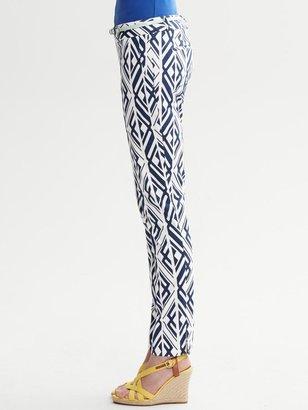 Banana Republic Camden-Fit Bold Print Ankle Pant