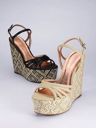 BCBGeneration Printed Wedge Sandal