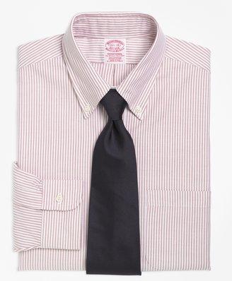 Brooks Brothers Traditional Fit Stripe Dress Shirt