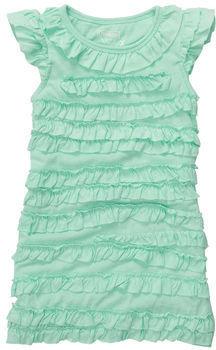 Osh Kosh Cap Sleeve Tiered Ruffle Dress