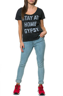 Buy Me Brunch The Gypsy Tee in Heather Grey
