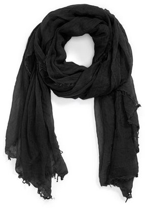 Halogen Crinkled Cashmere Wrap