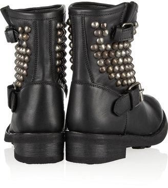 Ash Tamara studded leather boots