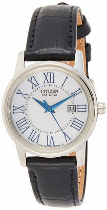 Citizen Women's Eco-Drive Stainless Steel Watch with Date EW1568-04A