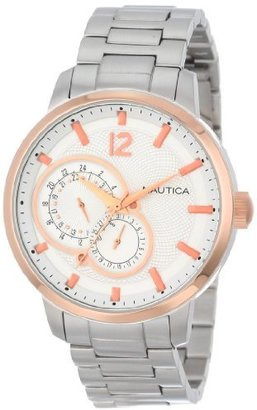 Nautica Unisex N20069G NCT 15 Multi Function Watch $99 thestylecure.com
