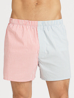 Paul Smith Striped Cotton Boxers