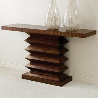 Global Views Draw Attention Console Table