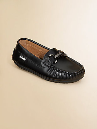 Venettini Toddler's & Boy's Leather Chain Loafers