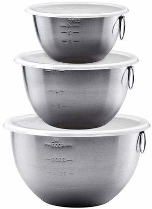 Tovolo Stainless Steel Mixing Bowls, Set of 3