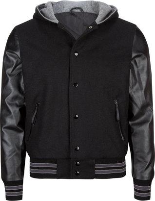 BROOKLYN Varsity Blues Mens Varsity Jacket