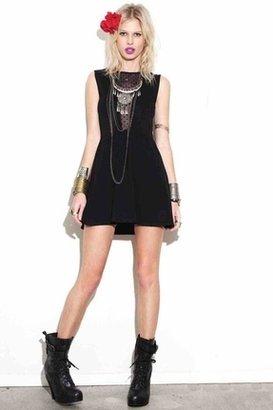 For Love & Lemons Lulu Dress in Polka Dot Black $109 thestylecure.com